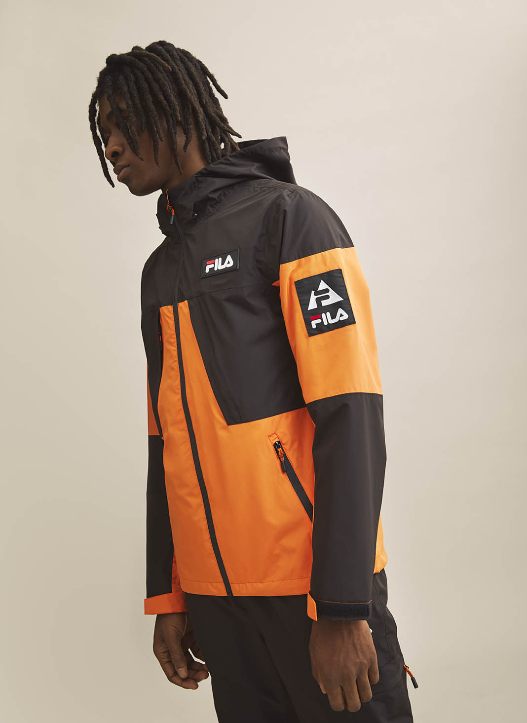FILA yellow black jacket